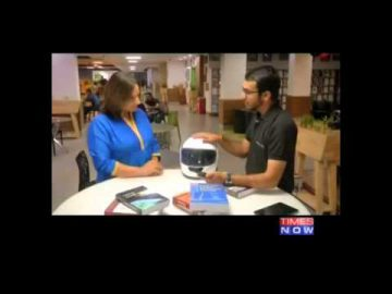 Smart Skull - Technoplanet Labs - Times Now - Power of Shunya